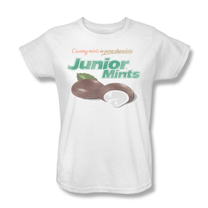 Junior Mints Logo (White) Women's Tee - TootsieShop.com