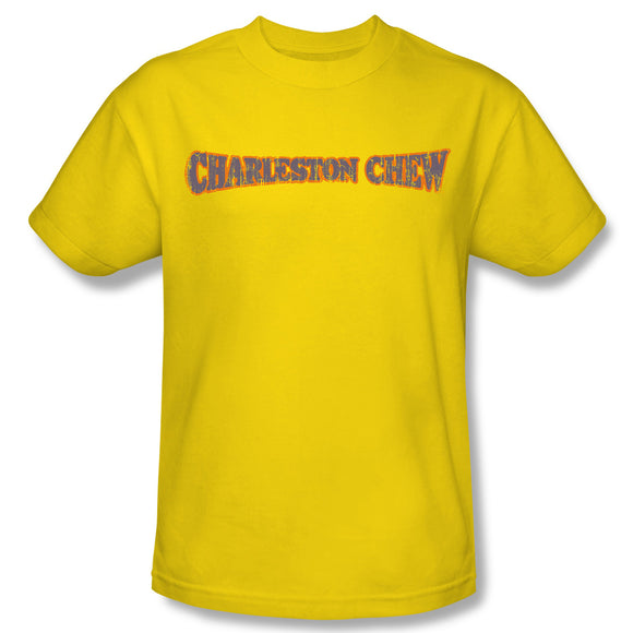 Charleston Chew Logo (Yellow) T-Shirt - TootsieShop.com