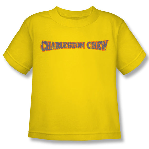 Charleston Chew Logo (Yellow) Kids Tee - TootsieShop.com