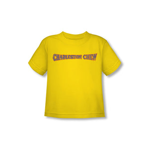 Charleston Chew Logo (Yellow) Toddler Tee - TootsieShop.com
