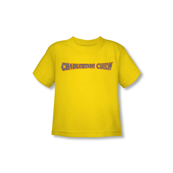 Charleston Chew Logo (Yellow) Toddler Tee