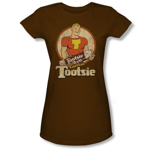 Captain Tootsie (Coffee) Junior Tee - TootsieShop.com