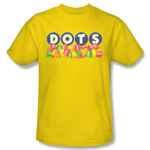Dots Logo (Yellow) T-Shirt - TootsieShop.com