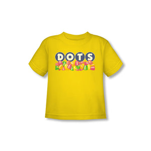 Dots Logo (Yellow) Toddler Tee
