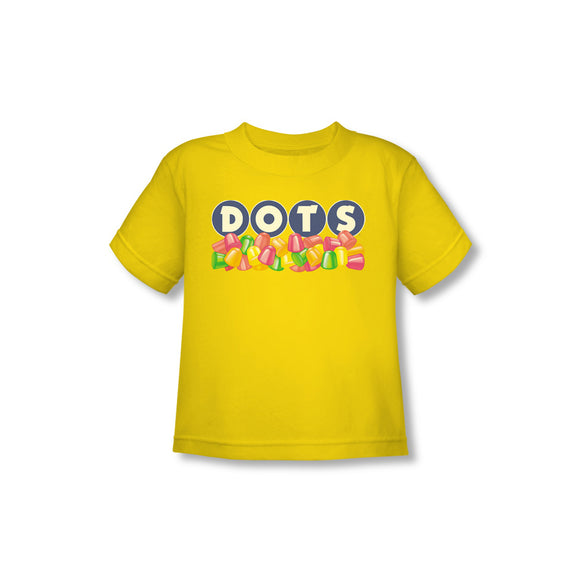 Dots Logo (Yellow) Toddler Tee - TootsieShop.com