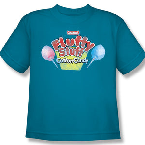 Fluffy Stuff Logo (Turquoise) Youth Tee
