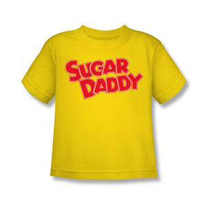 Sugar Daddy (Yellow) Kids Tee - TootsieShop.com