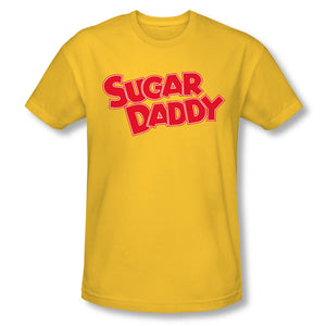 Sugar Daddy (Yellow) Slim Fit Tee