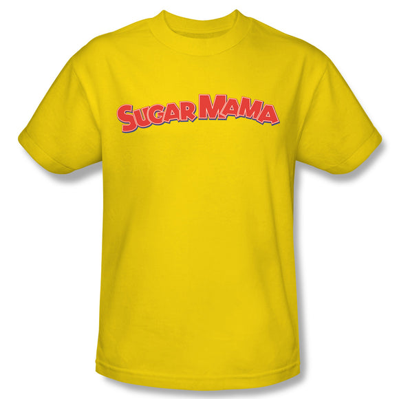 Sugar Mama (Yellow) T-Shirt - TootsieShop.com