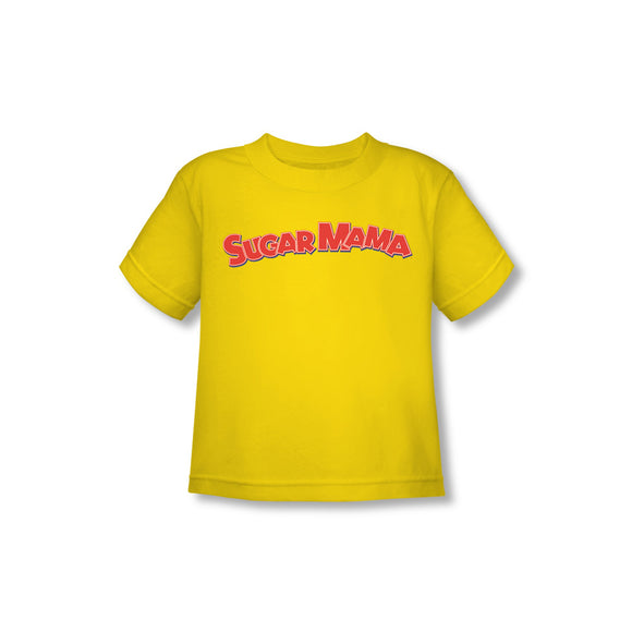 Sugar Mama (Yellow) Toddler Tee - TootsieShop.com