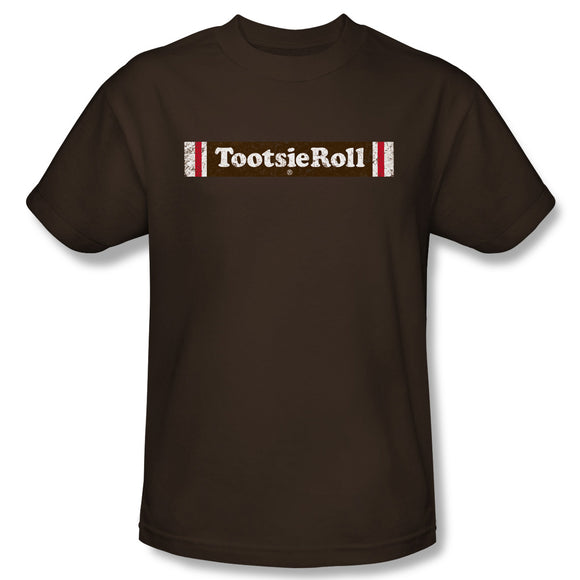 Tootsie Roll Logo (Coffee) T-Shirt