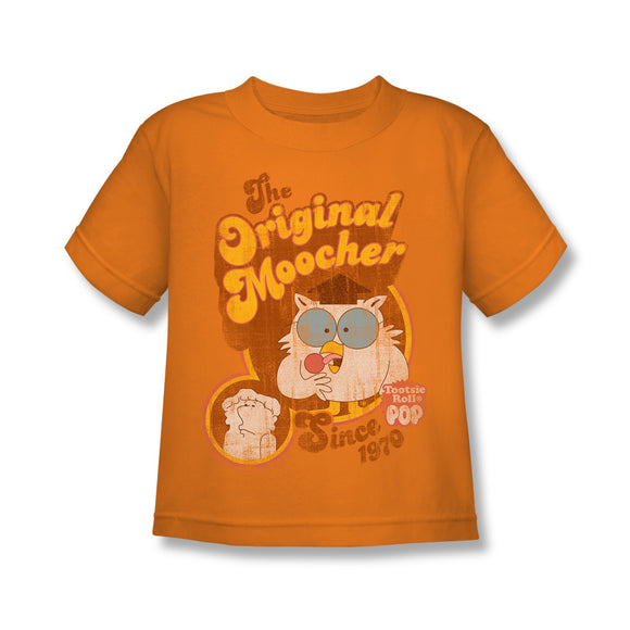 Original Moocher (Orange) Kids Tee - TootsieShop.com