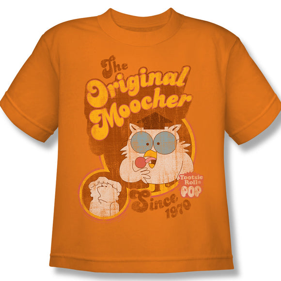 Original Moocher (Orange) Youth Tee - TootsieShop.com