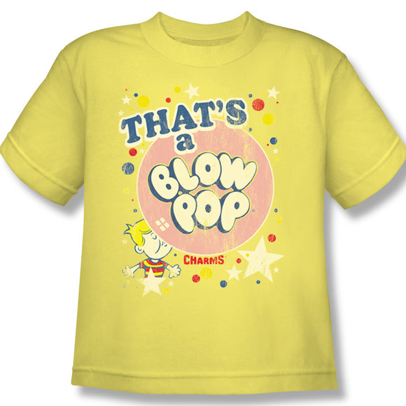 That's A Blow Pop (Banana) Youth Tee - TootsieShop.com