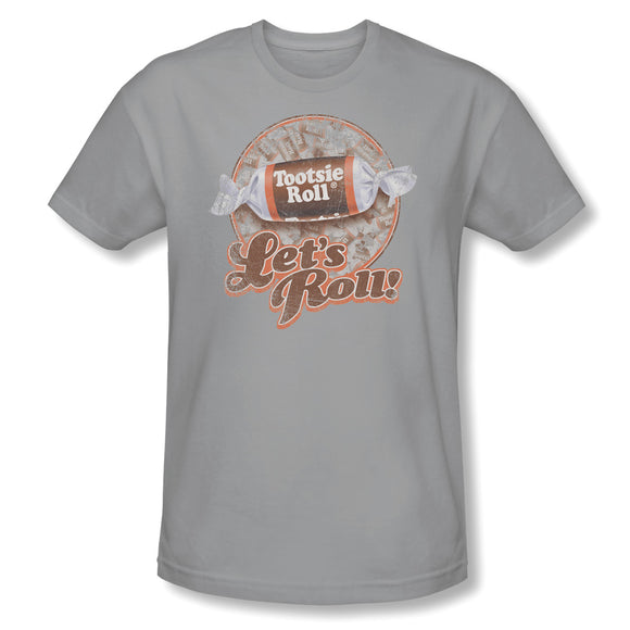 Let's Roll! (Silver) Slim Fit Tee - TootsieShop.com