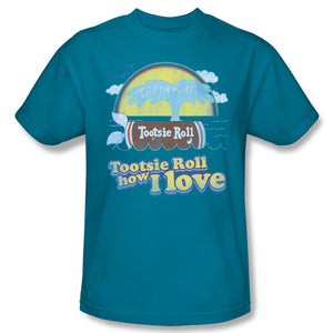 Jingle (Turquoise) T-Shirt - TootsieShop.com