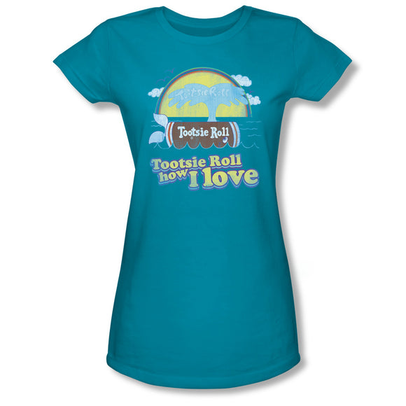 Jingle (Turquoise) Junior Tee - TootsieShop.com