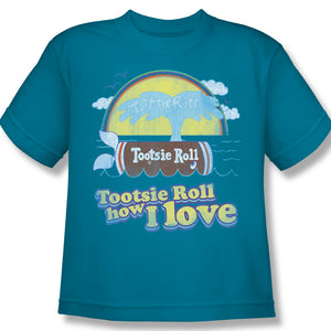 Jingle (Turquoise) Youth Tee - TootsieShop.com