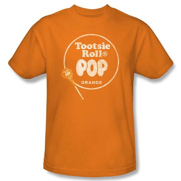 Pop Logo (Orange) T-Shirt - TootsieShop.com