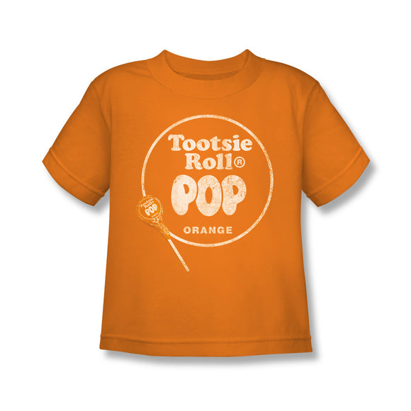 Pop Logo (Orange) Kids Tee