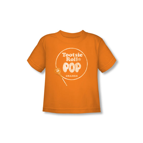 Pop Logo (Orange) Toddler Tee - TootsieShop.com