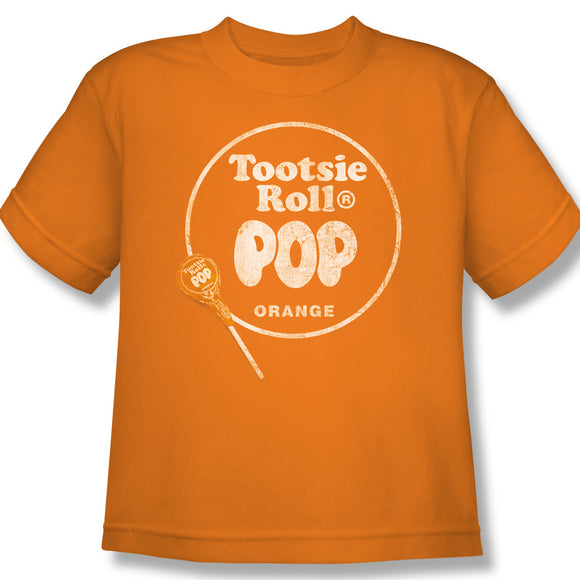 Pop Logo (Orange) Youth Tee - TootsieShop.com