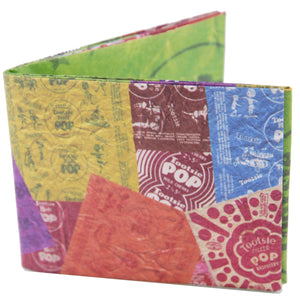 Tootsie Pop Wrappers Tyvek Wallet