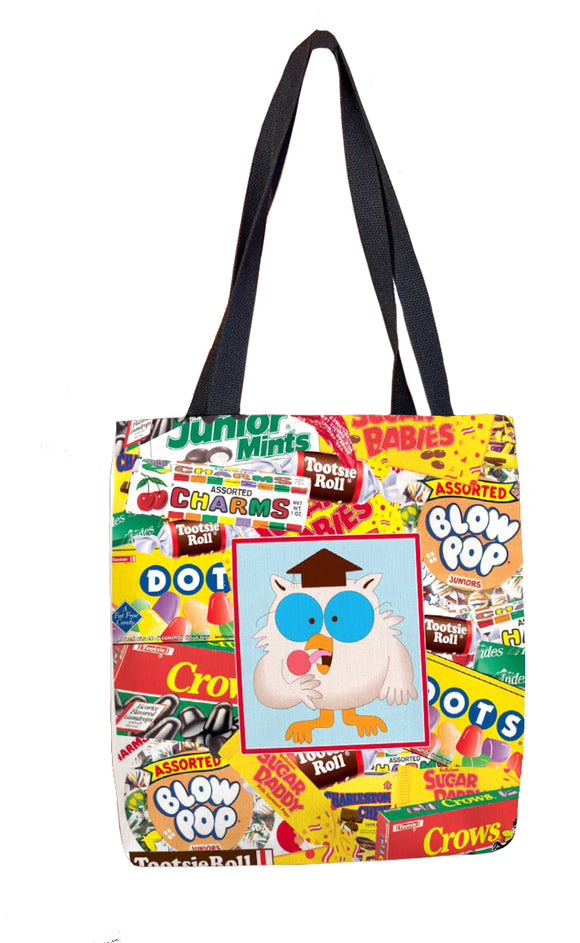 Tootsie Labels / Mr Owl Tote Bag