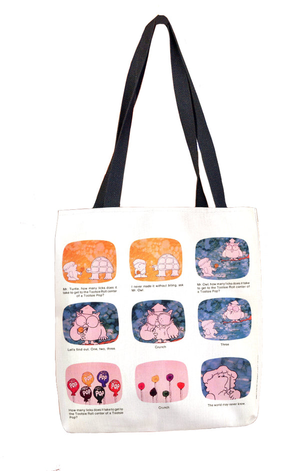 How Many Licks (Commercial) Tote Bag - TootsieShop.com