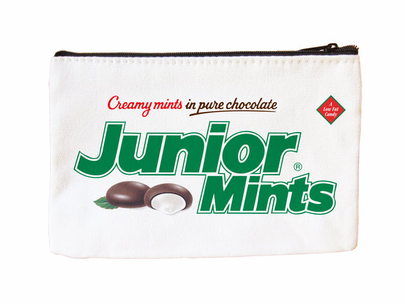 Jr Mints Faux Suede Cosmetic Case