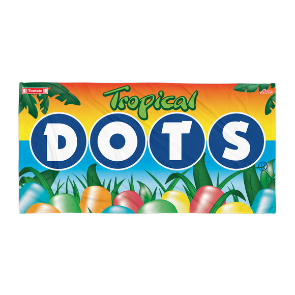Tropical Dots Towel - TootsieShop.com