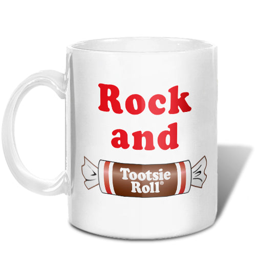 Rock and Tootsie Roll Mug