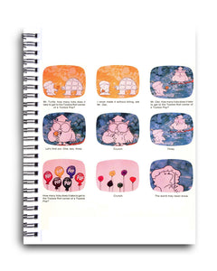 How Many Licks (Commercial) Spiral Journal - TootsieShop.com