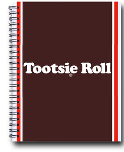 Tootsie Roll Spiral Journal