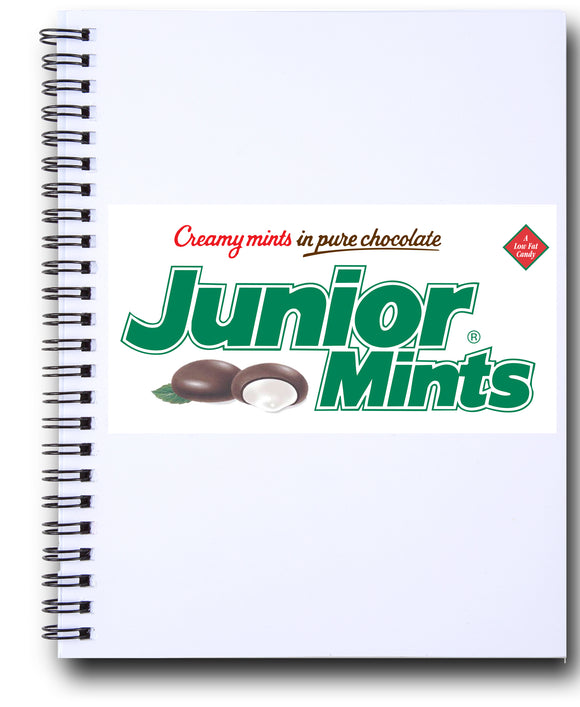 Jr Mints Spiral Journal - TootsieShop.com