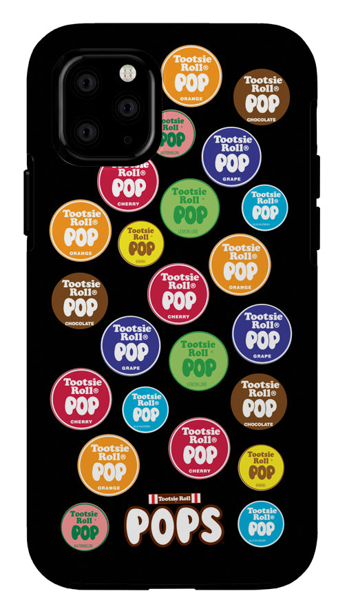 Tootsie Pops Black Background iPhone Case