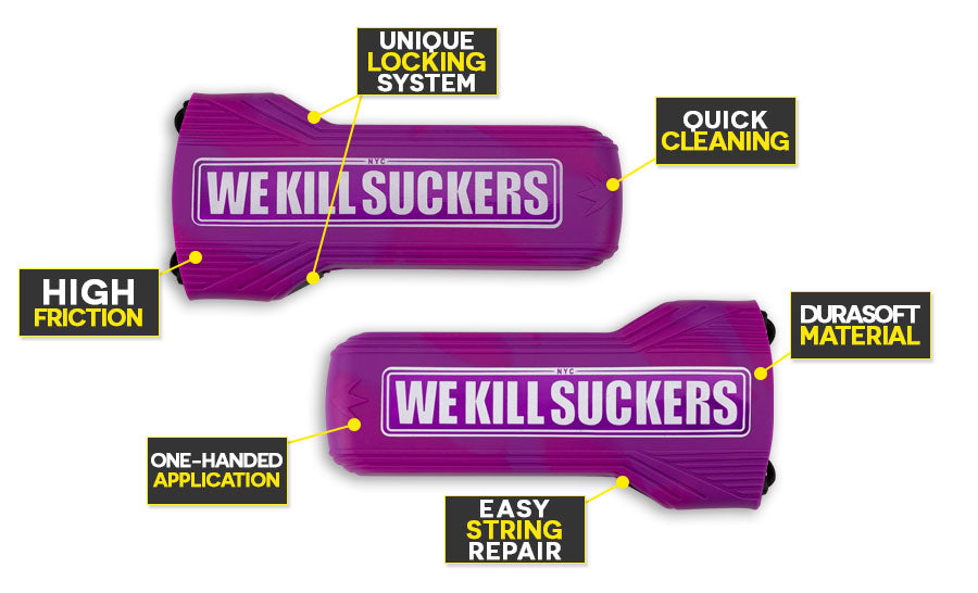 Bunker Kings Evalast Barrel Cover WKS Purple Features