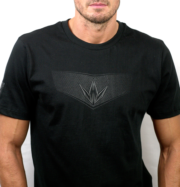Bunkerkings Crown Grid T Shirt