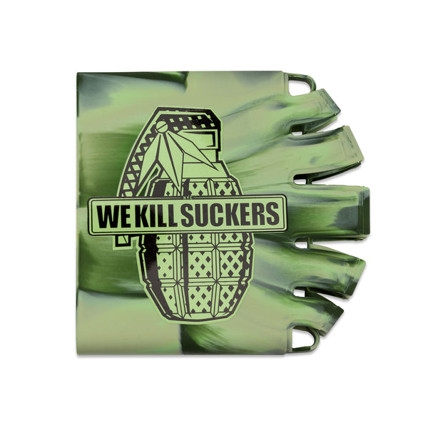 Bunkerkings - Knuckle Butt Tank Cover - WKS Grenade - Camo