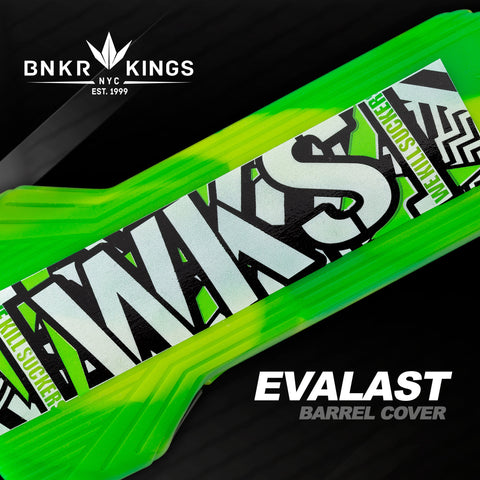 Bunkerkings - Evalast Barrel Cover - Shred - Lime