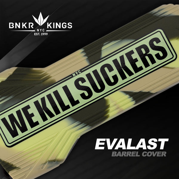 Bunkerkings - Evalast Barrel Cover - WKS - Camo