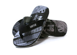 Virtue Onset Flip-Flops - Graphic Black