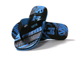 Virtue Onset Flip-Flops - Graphic Cyan