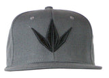 BK Snapback Cap - Crown / Grey