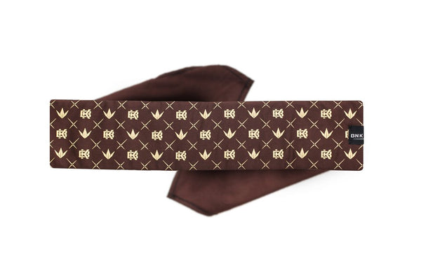 zzz - Bunkerkings King Tie - Crown Pattern