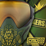 zzz - Bunkerkings - CMD Goggle - Master Sarge (only 250 worldwide)