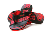 Virtue Onset Flip-Flops - Graphic Red