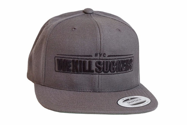 Bunkerkings Snapback Cap - WKS Grey