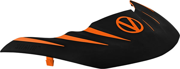 zzz - Virtue VIO Stealth Visor - Orange/Black