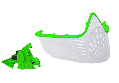 VIO Extend Face Mask - Lime / White
